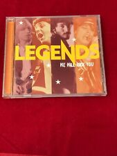 Legends We Will Rock You CD Eagles Petty McCartney Clapton Queen Boston & MORE