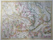 MERCATOR HONDIUS SCHWEIZ AARGAU ARGOW VIERWALDSTÄTTER SEE ZÜRICHSEE 1606