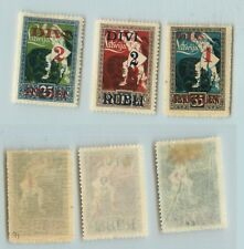 Latvia 1921 SC 91-93 mint . rtb964