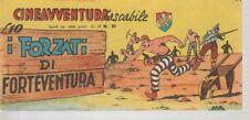 STRISCIA CINEAVVENTURA TASCABILE 21 EDIZIONE FANTERA 1952