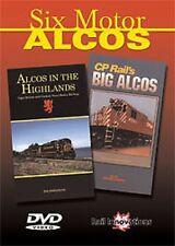 Six Motor Alcos Combo DVD NEW Greg Scholl CN CP Rail Nova Scocia Highlands