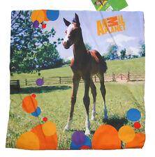 Pferde Kissenbezug Mädchen Kissen ohne Füllung Kinder Fohlen Pferd 40x40 cm