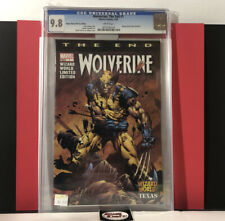 Wolverine: The End #1 Wizard World Texas 2003 David Finch Variant Cover CGC 9.8