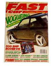 Fast Car Magazine - Sept 1994 - 320 BHP Rover V8