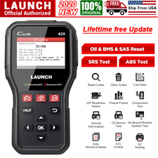 Auto ABS SRS Airbag Reset Tool OBDII Code Reader Diagnostic Scanner Engine Check
