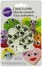 Wilton Candy Eyeballs With Lashes Cupcake Cake Pops Edible Cookie Decorations