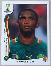 PANINI STICKER - FIFA - WORLD CUP 2014 - No 107 - SAMUEL ETO'O