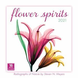Flower Spirits Radiographs of Nature by Steven N. Meyers 2021 Wall Calendar w