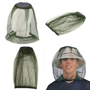 Midge Mosquito Insect Hat Bug Mesh Head Net Face Protector Travel Camping UK