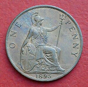 Victoria 1895 Penny - Top grade