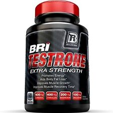 BRI Nutrition Testrone Supplement With Diindolylmethane, Tongkat Ali 60 Capsules