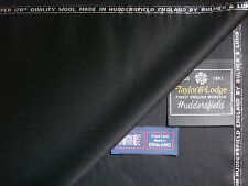 100% SUPER 120's WOOL SUITING FABRIC MADE IN ENGLAND BY: Taylor & Lodge - 3.4 m.