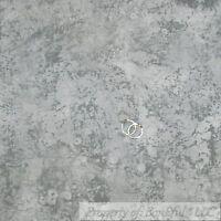 BonEful Fabric FQ Cotton Quilt Gray Tone Shade Light Dark Shabby Chic Stone Dot