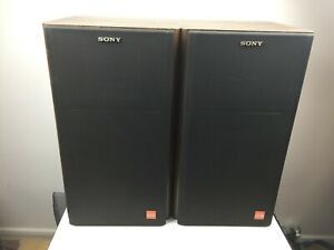 Sony - APM-22ES Vintage Speakers - Square Drivers - Good Condition -