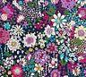 Memorie A Paris 2019 Cotton Lawn Fabric Lecien Japan Navy Purple Magenta White