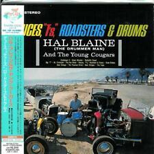 """HAL BLAINE  """" Deuces T's Roadsters & Drums """"  Japanese Mini LP"""