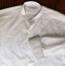 "Vintage boys tunic shirt size 14.5"" Billings Edmonds Eton school uniform 1960s"