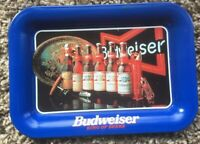 BUDWEISER Beer Tip Tray.   Excellent!  1996