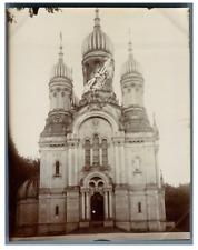 Deutschland, Wiesbaden, Russisch-Orthodoxe Kirche  vintage citrate print  Tira