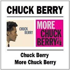 CHUCK BERRY - CHUCK BERRY/MORE CHUCK BERRY  CD NEU