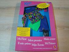 KEN VINTAGE - MY FIRST/HABILLAGE/FASHIONS - REF: 3427 - MATTEL 1992 - NEUF -