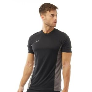 UNDER ARMOUR mens T Shirt  tee top S black  Sports Training gym challenger