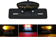 SMOKE Custom Motorcycle LED Tail Brake Light with built in Turn Signal Lights