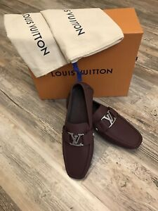 Louis Vuitton Driving Shoes Mocassines Mens Loafers New W/Box/Bag Sz 9.5US 8UK