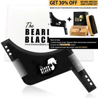 The Beard Black Shaping & Styling Tool with inbuilt Comb for Perfect line up...