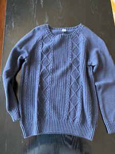 janie and jack navy sweater NWT 8