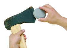 Lansky The Puck Dual Grit Sharpener Tool Axe Garden Blade Lawn Mower Machete