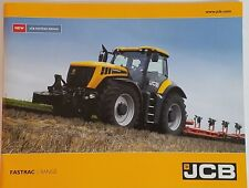 JCB Fastrac Range Product Catalog Booklet NEW 31 Pages Military