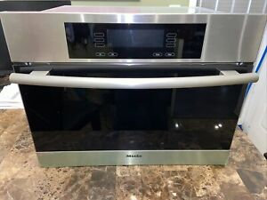"""Miele 24"""" Electric Steam Oven DG4080"""