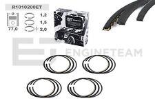 4x Kolbenringsatz R1010200 Mini Cooper S R56 N14B16A, Citroen Berlingo 1,6VTi