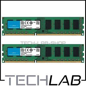 MEMORIA RAM DDR3 4GB (2X2GB) PC3-12800U 1600MHZ NON ECC PC FISSO DESKTOP