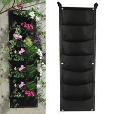 100*30cm 7 bolsillos Jardinera jardín vertical Montado en pared Plantando Flor