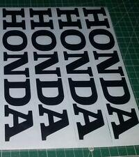 4 × HONDA CR CRM CRF CR125 MTX Autocollant toutes les couleurs (TOUTE DIMENSION) Badge Decal emblèmes