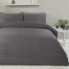 Sleepdown Super Soft Crinkle Luxury Duvet Cover and Pillowcase Set