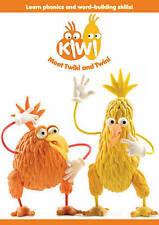 BRAND NEW DVD Kiwi Meet Twiki and Twini Learn Phonics & Word Building Skills
