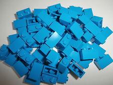 LEGO CLASSIQUE 60 pièces de construction 3004 en turquoise / dark azur 1x2
