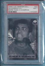 2000 Upper Deck Master Collection #23 Muhammad Ali The Legend # 005/250 PSA  NM7