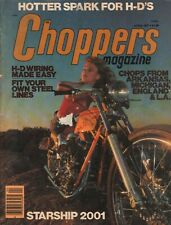 1977 April Choppers - Vintage Motorcycle Magazine