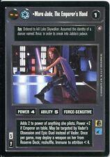 Star Wars CCG Enhanced Jabbas Palace Mara Jade The Emperors Hand