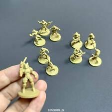 Lot 10 gold Fit For Dungeons & Dragon D&D  Miniatures figures
