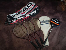 Set de tenis + squash scläger + bolsa, calidad superior, por favor ver!!!
