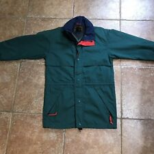 Vintage Eddie Bauer Gortex Windbreaker Zip Up Jacket Hood Zip Sz Small (C5)