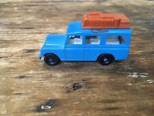 Vintage Lesney Matchbox #12 Safari Land Rover Regular Wheels 1965 Excellent Cond