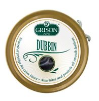 GRISON DUBBIN Neutral 100ml Tin Waterproofs, Conditions Leather Shoe & Boot Wax