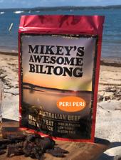 Mikeys Awesome Biltong - Perri Perri Flavour 225grams