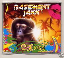 "BASEMENT JAXX ""Jus 1 Kiss"" UK CD single + video 2001"